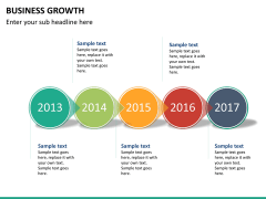 Business growth PPT slide 17