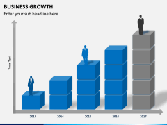 Business growth PPT slide 1