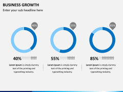 Business growth PPT slide 2