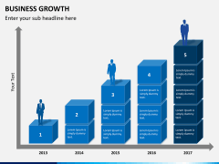 Business growth PPT slide 5