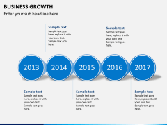 Business growth PPT slide 7