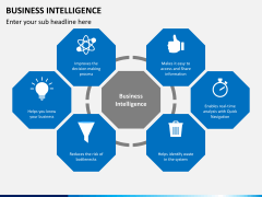 Business intelligence PPT slide 1