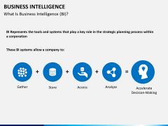 Business intelligence PPT slide 2