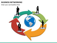 Business networking PPT slide 11