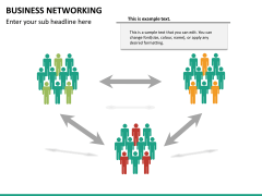 Business networking PPT slide 20