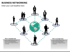 Business networking PPT slide 12