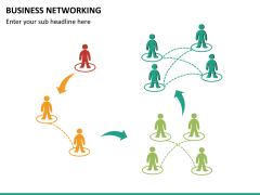 Business networking PPT slide 13