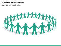 Business networking PPT slide 14