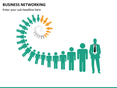 Business networking PPT slide 15