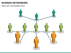 Business networking PPT slide 17