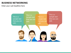 Business networking PPT slide 19