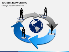 Business networking PPT slide 1