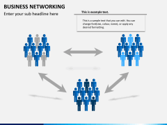 Business networking PPT slide 10