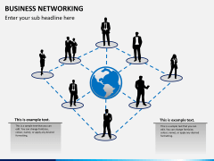 Business networking PPT slide 2