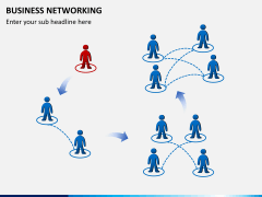 Business networking PPT slide 3