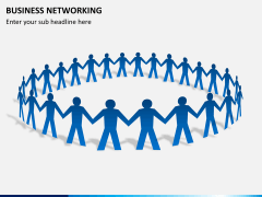 Business networking PPT slide 4