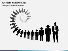 Business networking PPT slide 5
