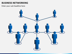 Business networking PPT slide 7