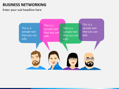 Business networking PPT slide 9