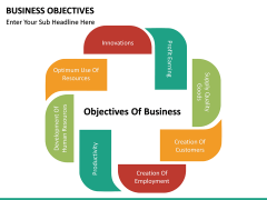 Business Objectives PPT slide 12