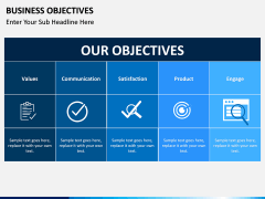 Business Objectives PPT slide 1