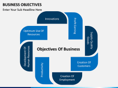 Business Objectives PPT slide 2