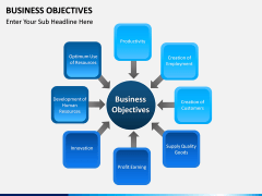 Business Objectives PPT slide 3