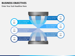 Business Objectives PPT slide 8