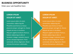 Business opportunity PPT slide 14