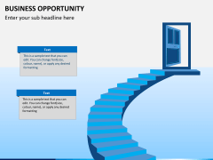 Business opportunity PPT slide 1