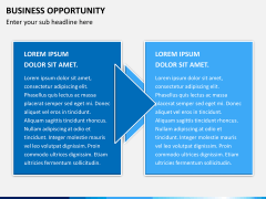 Business opportunity PPT slide 3