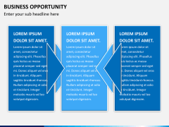 Business opportunity PPT slide 5