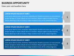 Business opportunity PPT slide 6