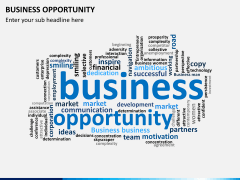 Business opportunity PPT slide 9