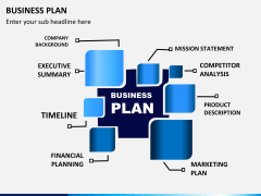 Business plan PPT slide 1