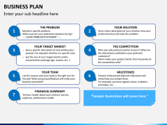 Business plan PPT slide 7