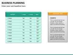 Business planning PPT slide 17