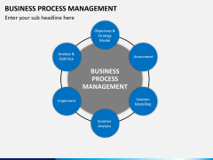 Business process management PPT slide 1