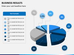 Business results PPT slide 1