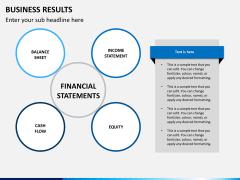 Business results PPT slide 10