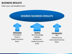 Business results PPT slide 4