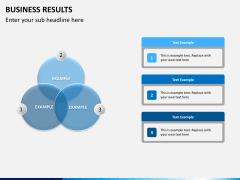 Business results PPT slide 7