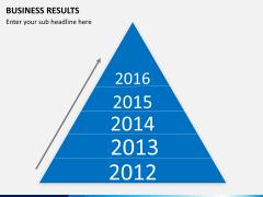 Business results PPT slide 8