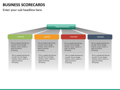 Business scorecards PPT slide 10