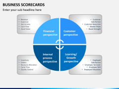 Business scorecards PPT slide 2