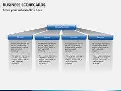 Business scorecards PPT slide 3