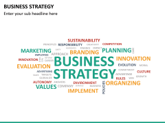 Business strategy PPT slide 22