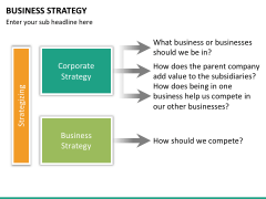 Business strategy PPT slide 23