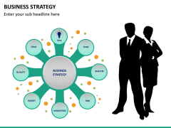 Business strategy PPT slide 14
