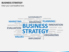 Business strategy PPT slide 10